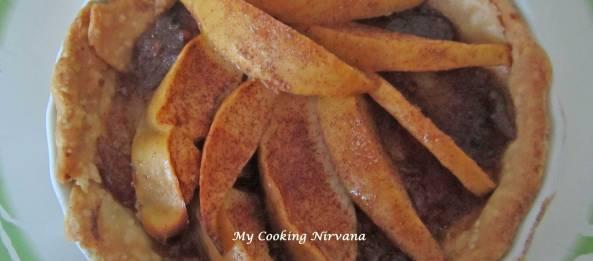 Apple Cranberry Chutney Tart